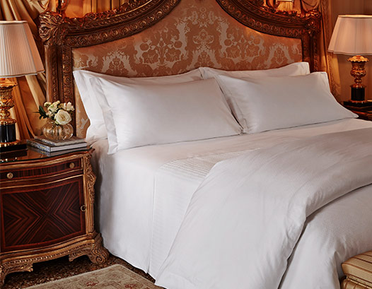 Andrea Collection Bed & Bedding Set