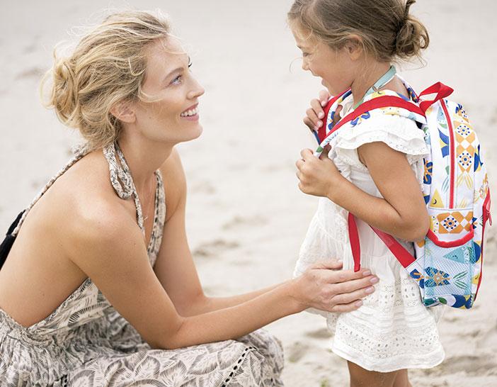 Margherita Maccapani Missoni Childrens Backpack For The