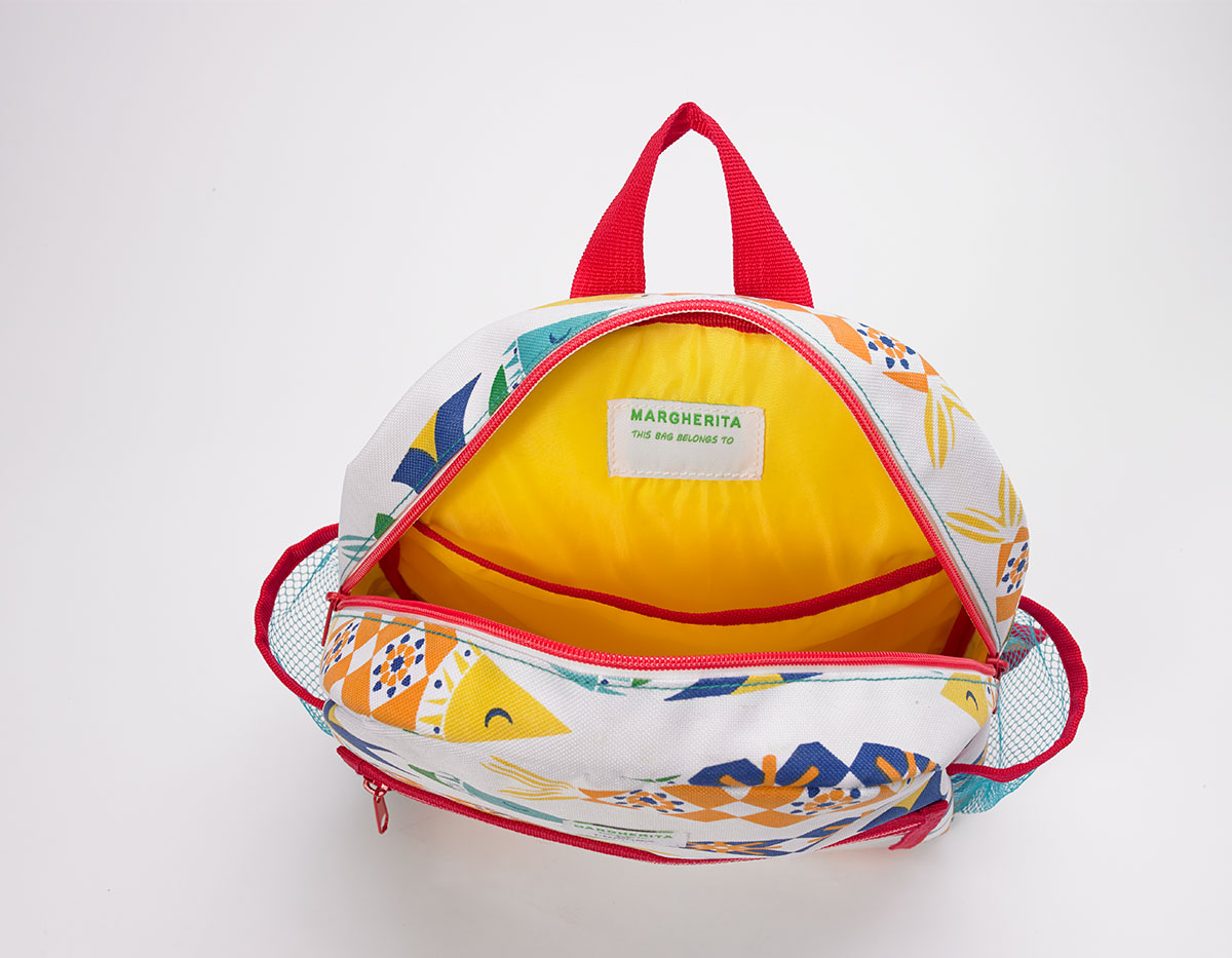 ddfcfd6a35 ... Margherita Maccapani Missoni Childrens Backpack For The Luxury  Collection ...