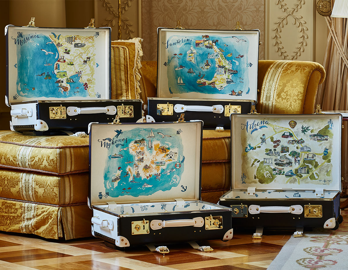The Luxury Collection Luggage By Globe-Trotter ... bb6b2d118
